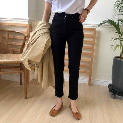 Unbal Black Pants